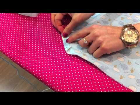 ▶ Daily Sweet Cap 6 Video tutorial Como hacer esquinas perfectas en tela - YouTube