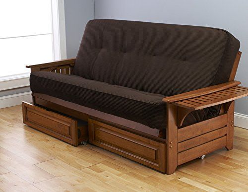Full Phoenix Futon Frame Only Mattress Not Included Barbados