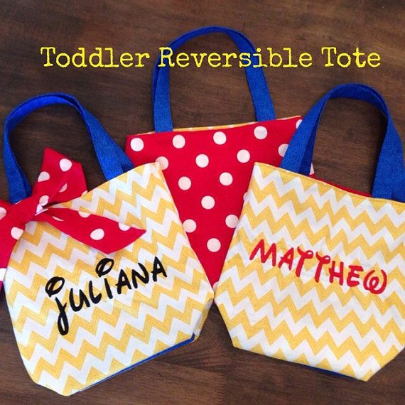 Reversible Tote from Love, Nicole Lynn Designs