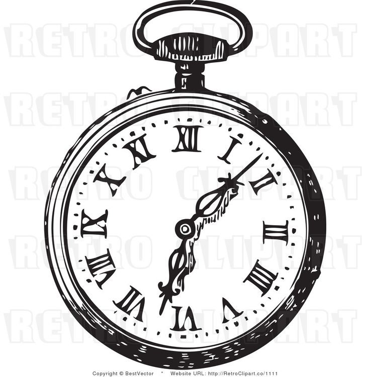 alice in wonderland clock clipart - photo #1
