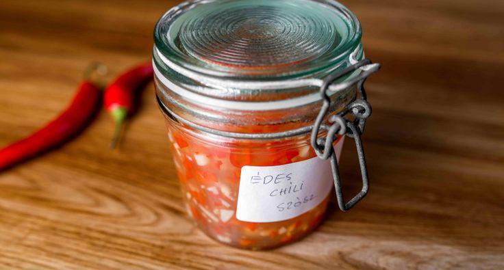 Thai édes chiliszósz recept