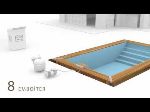 7 best images about piscine en kit haut de gamme on. Black Bedroom Furniture Sets. Home Design Ideas
