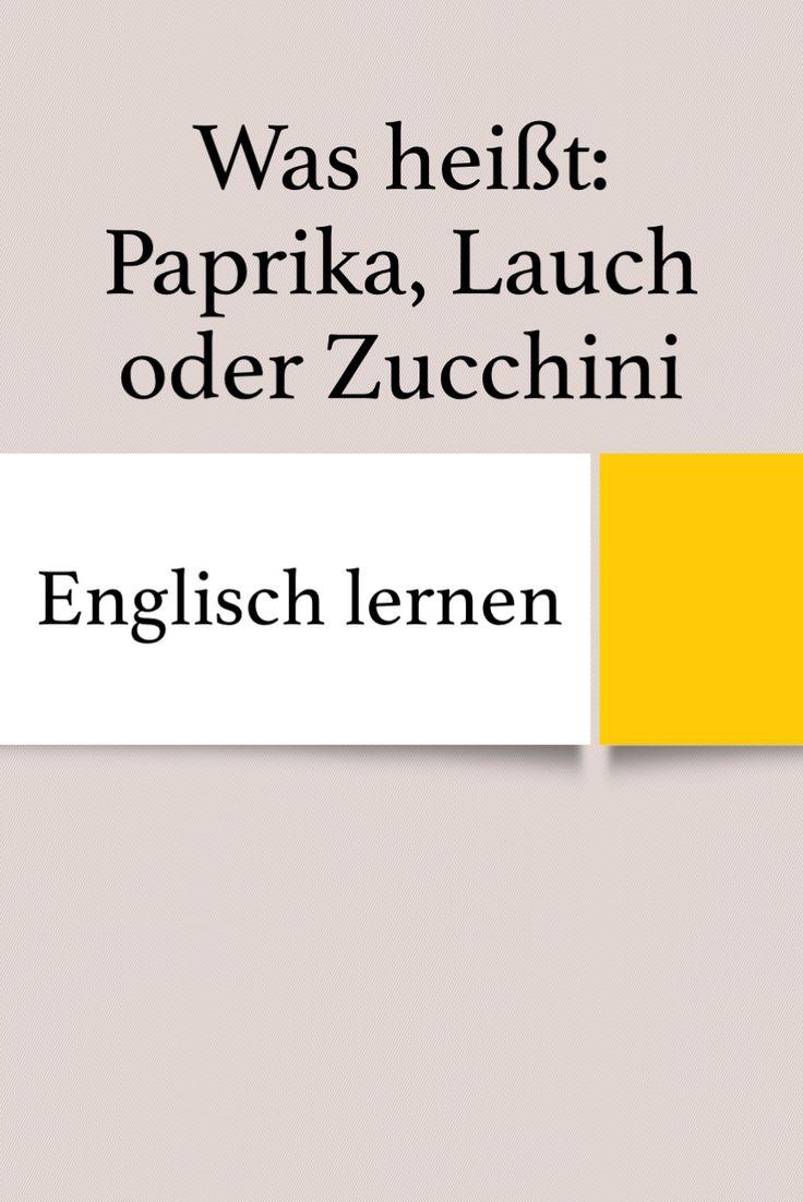 Lauch Englisch