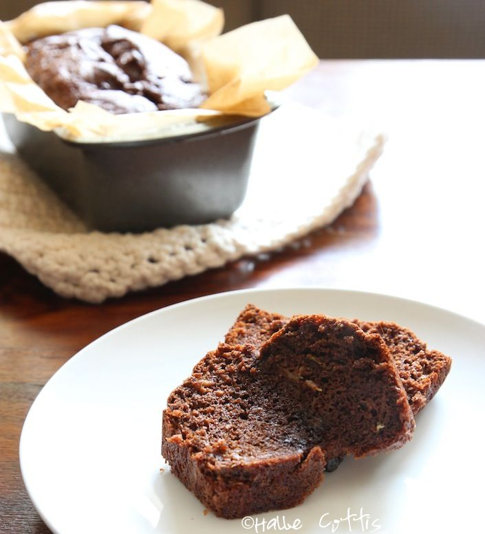 Chocolate Zucchini Bread- •1 cup Justin's chocolate hazelnut butter ...