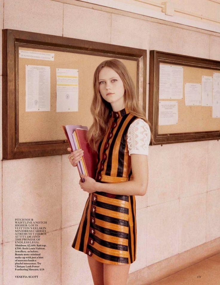Julie Hoomans for Vogue UK June 2015 - Louis Vuitton