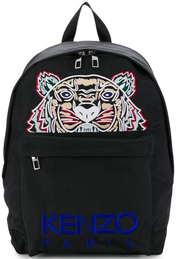 f356a1cebf Kenzo Tiger logo backpack Tiger Logo
