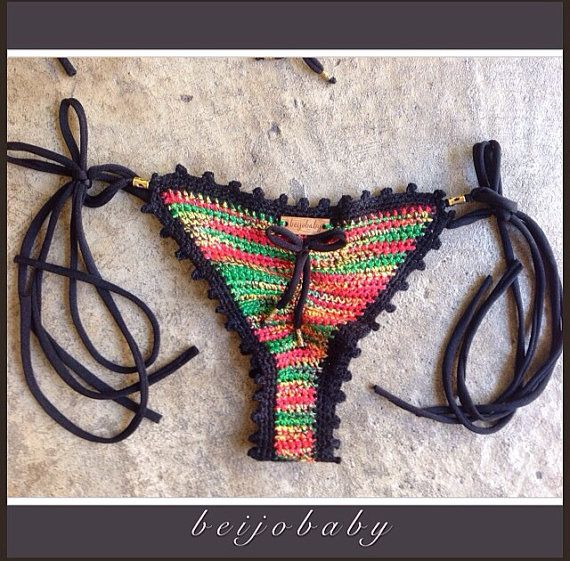 Anna rasta bikini by beijobaby on Etsy