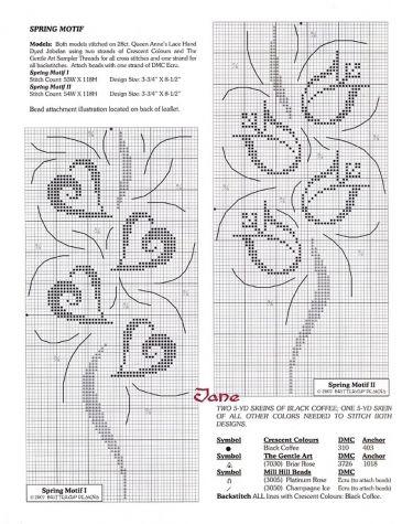 Филейное вязание. Схемы. / Вязание крючком / Женская одежда крючком. Схемы и описание