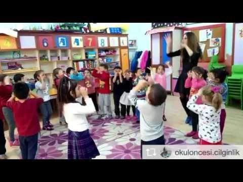 'Bak bak bak bir örümcek duvara çıkıyor hızlıca'şarkılı rondu - YouTube
