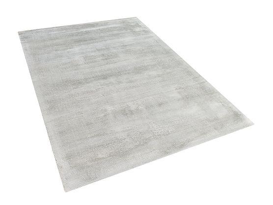 Világosszürke szőnyeg - viszkóz - 120x170 cm - GESI