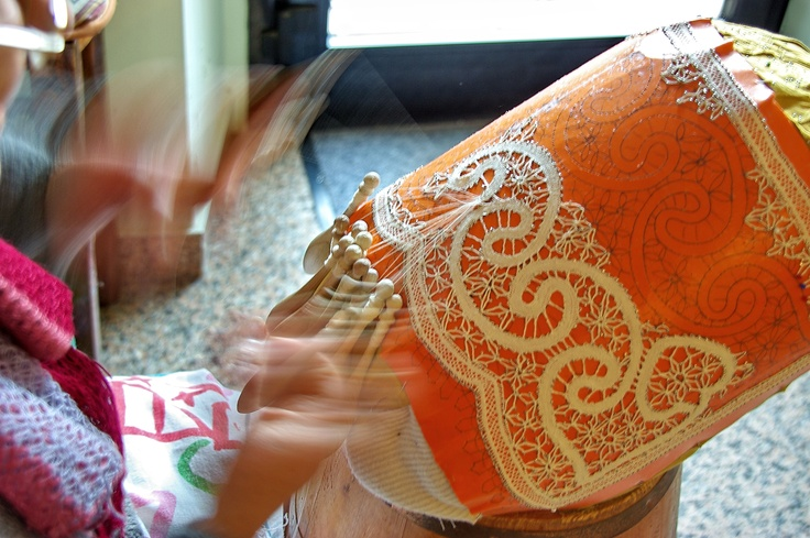 Marche handicraft: Tombolo