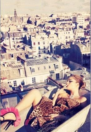 On Top of The World (in Paris) / uploaded by Rosanna Devon