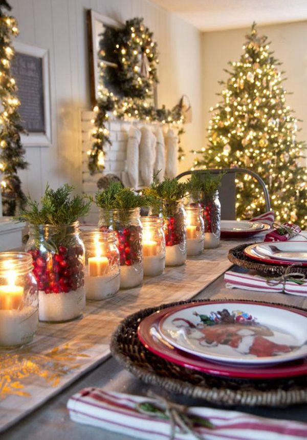 15 traditional christmas table setting ideas dekoration classic rh in pinterest com
