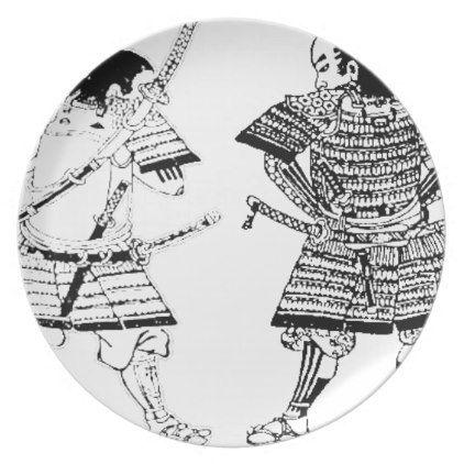 Samurai Melamine Plate - kitchen gifts diy ideas decor ...