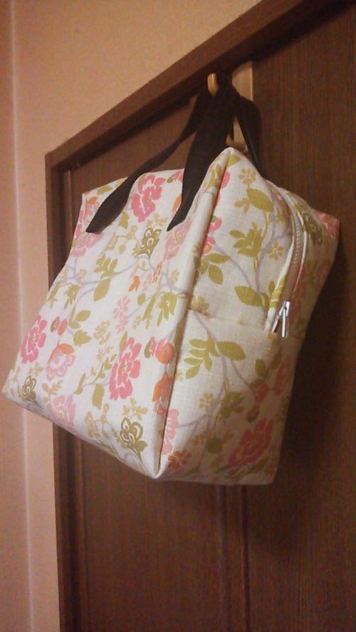 四角いミニボストンバッグの作り方 バッグ ファッション小物