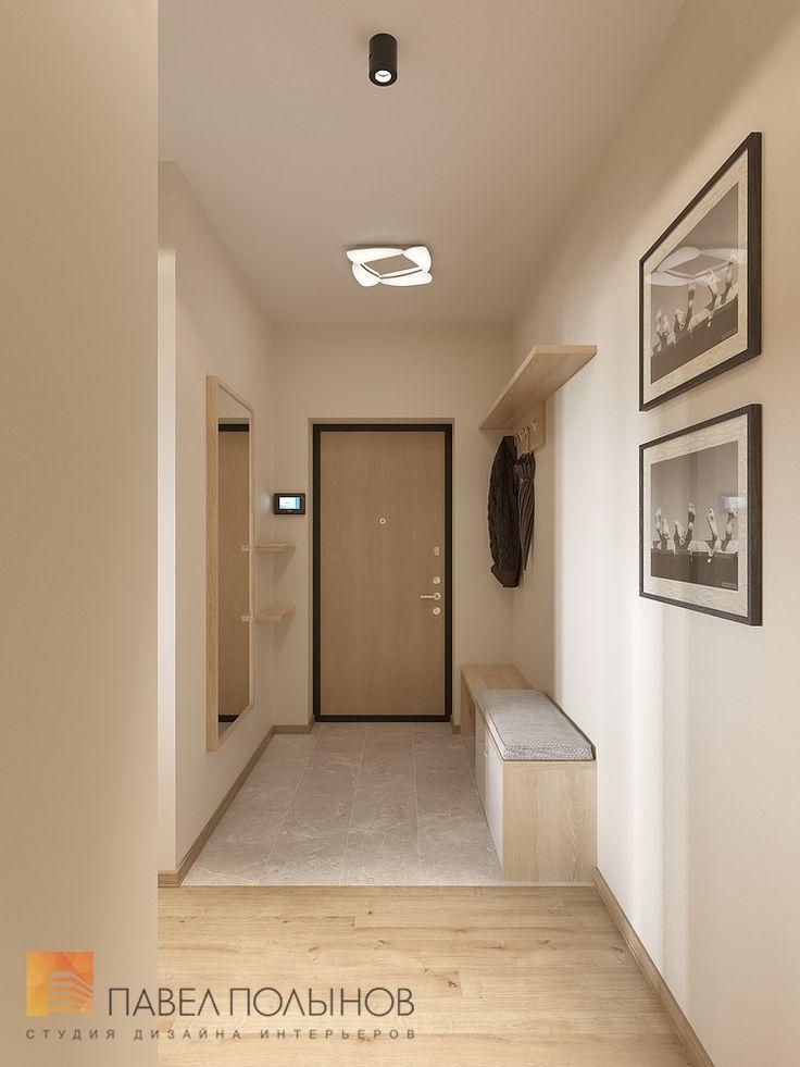 Фото: Интерьер прихожей - Интерьер квартиры в современном стиле, ЖК «Солнечный»