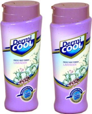 Dermi Cool Prickly Heat Powder Lavender (Pack Of 2) - Price in India, Buy Dermi Cool Prickly Heat Powder Lavender (Pack Of 2) Online In India, Reviews, Ratings & Features | Flipkart.com