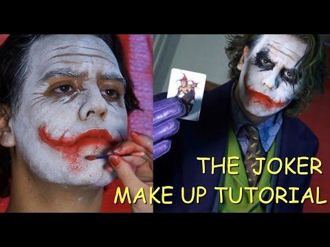 Joker Scars; How to Make up with Joker Prosthetics (Professional) - YouTube