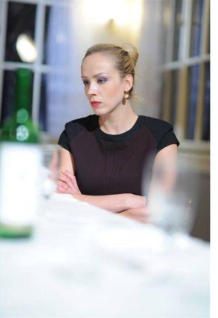 Petra Hrebícková   Sedíme v kavárně Švandova divadla a Vy ...