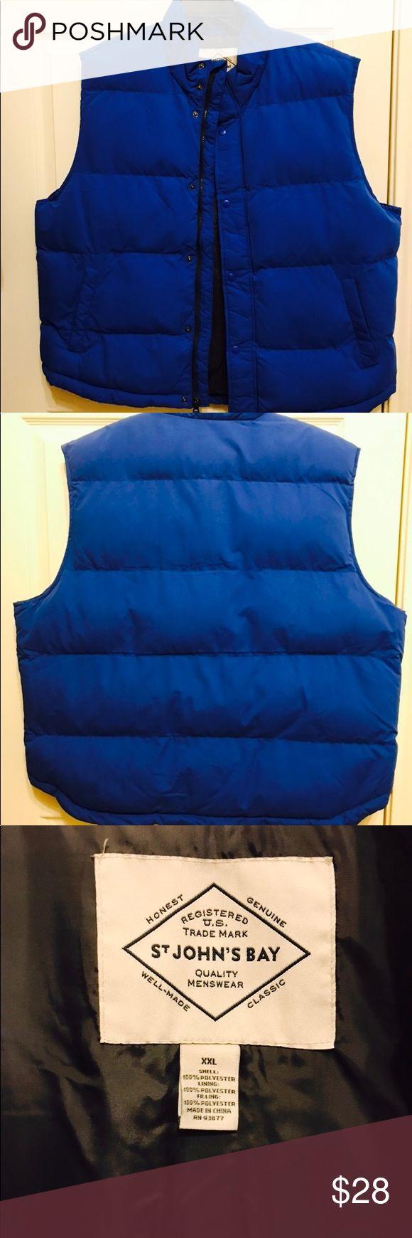 Men's Puffer Vest - St. John's Bay NWOT | Men's Puffer Vest - St. John's Bay | Excellent Condition, never worn. St. John's Bay Jackets & Coats Vests