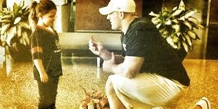 JJ Watt Pretend Proposal - Little Girls Dream Come True! https://www.youtube.com/watch?v=Mt1d1mzNhM8