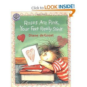Roses are Pink, Your Feet Really Stink - adorable activities for read-aloud and writing