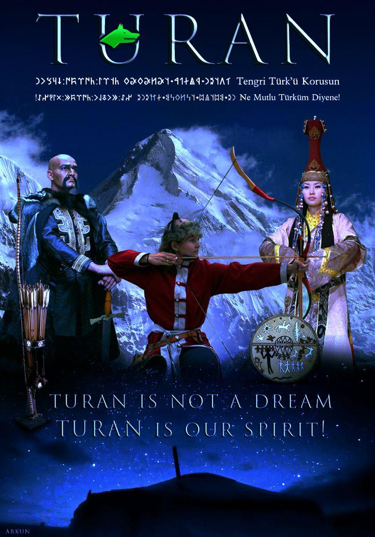 Turan is Our Spirit! turan turancılık turanism turanic turkistan east turkistan turkic bozkurt tengri tengrism altai ural japan korean hungarian finnish turkey