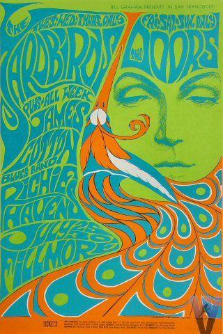 Yardbirds/Doors - Bonnie MacLean poster