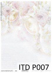 Itd Collection - zaproszenia - decoupage - kartki