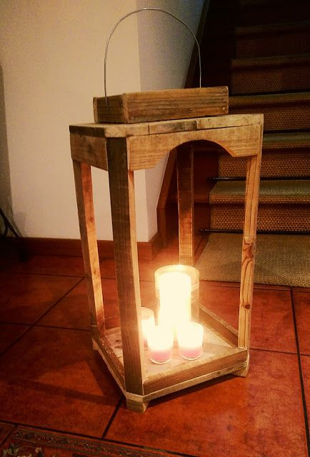 Lanterna Rustica Diy  Rustic Lantern Diy  http://sweetdiyswithmaria.blogspot.pt/2017/01/diy-lanterna-decorativa.html