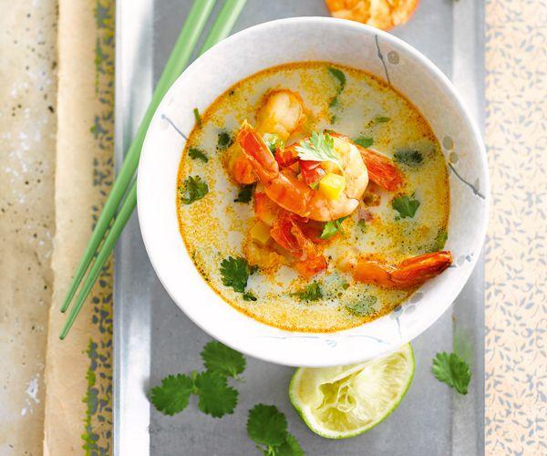#Soupe de #crevettes