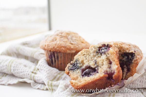 Blueberry Buttermilk Muffins | Recipe