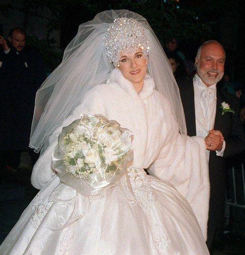Celebrity Weddings: bridesmaid dresses david s bridal