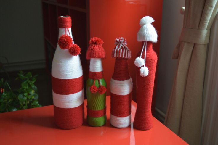 Decorative Christmas vases
