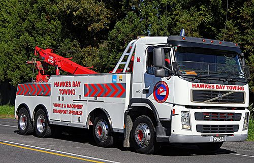 VOLVO - Hawkes Bay Towing, Australia | Trucks And Buses.... | Pinterest | Tow truck, Cars and Flats