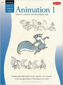 Animation 1: Learn to Animate Cartoons Step by Step (Cartooning, Book 1): Preston J. Blair: 9780929261515: Amazon.com: Books  ★ || iAnimate || ★  Find more at https://www.facebook.com/iAnimate.net http://www.pinterest.com/ianimateschool/ #ianimate  iAnimate.net is quite simply the best animation program in the world. #animation #books