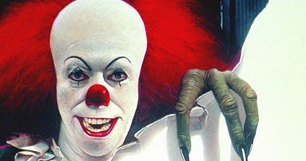 A new infographic breaks down the scariest clowns in movies and television.