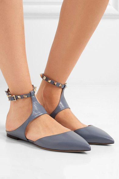 Slight heel Sky-blue leather Buckle-fastening ankle strap Designer color: London Sky Made in Italy