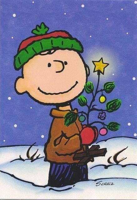Charlie Brown and Charlie Brown Tree :-D