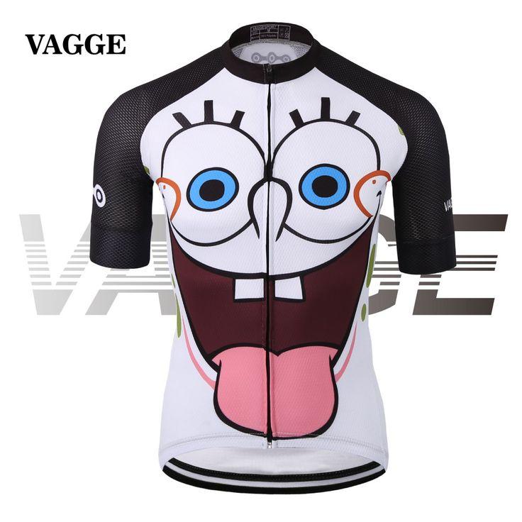 VAGGESPORT улыбающееся лицо сублимации велоспорт джерси одежда/забавный мультфильм велосипед рубашки/быстрый сухой 100% полиэстер велосипедов топ SJ-002 #shoes, #jewelry, #women, #men, #hats, #watches, #belts