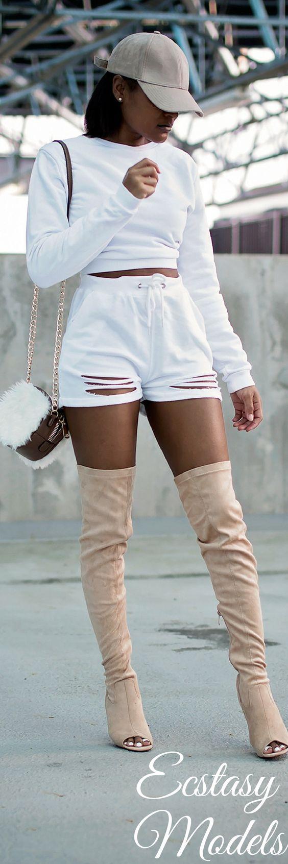 Sweatshirt Chic // Fashion Look by The Daileigh