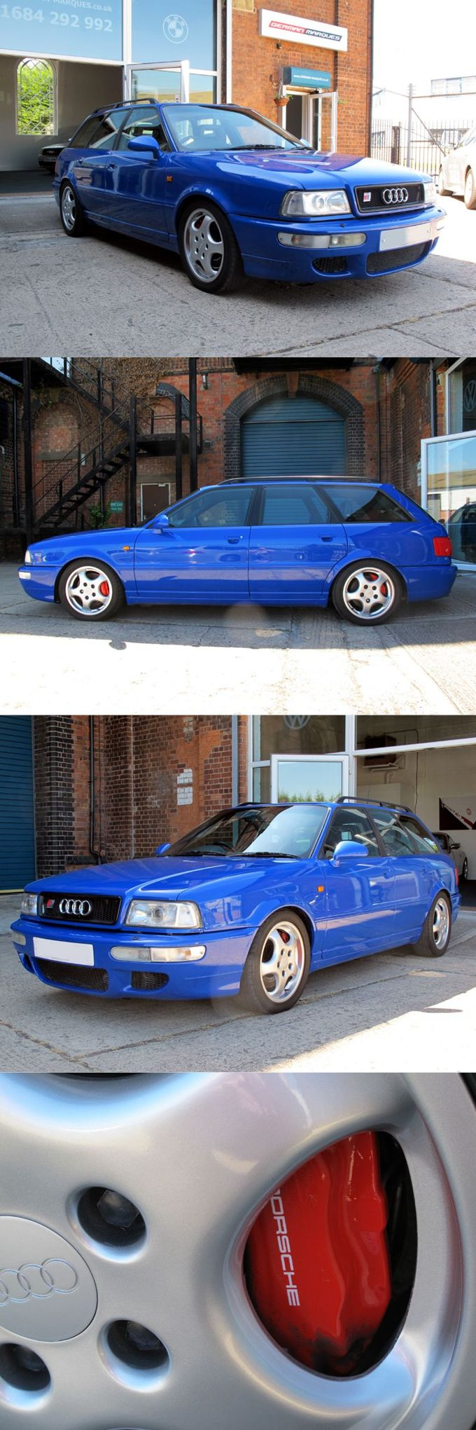 1994 Audi RS2 Avant / Germany / Porsche / 311 hp 2.891 manufactured / blue
