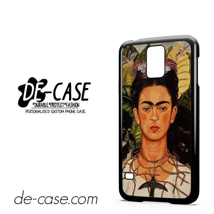 Frida Kahlo Self Portrait With Thorn Necklace For Samsung Galaxy S5 Case Phone Case Gift Present YO
