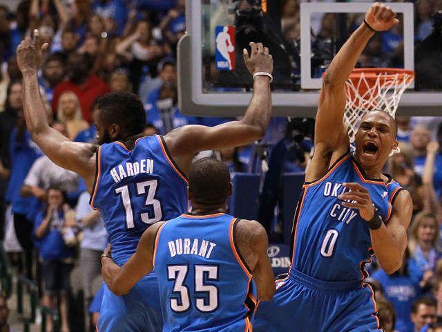 okc thunder | OKC Thunder versus LA Lakers in the NBA Playoffs throwback :(