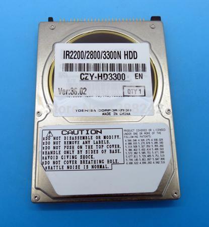 Genuine HDD for Toshiba MK6017MAP FK2-4907-000 500gb 5400rpm ide hard disk drives 40GB HDD for iR 2220i/2220N/3320i/3320N  — 3229.33 руб. —