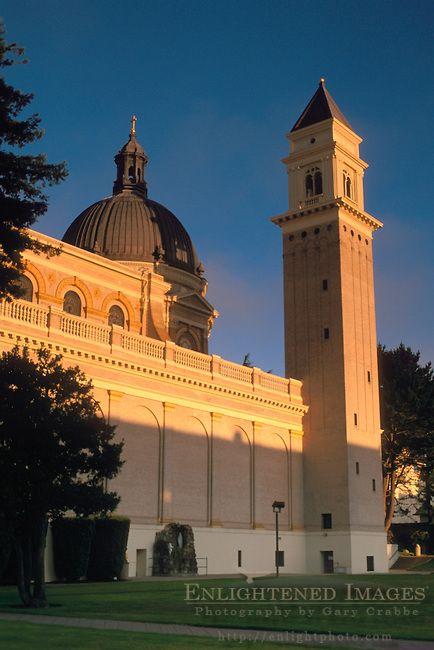 Campanile at San Francisco State University, San Francisco, California