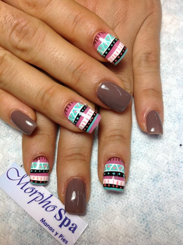 Omg if I actually had good nails I would try this but oh well