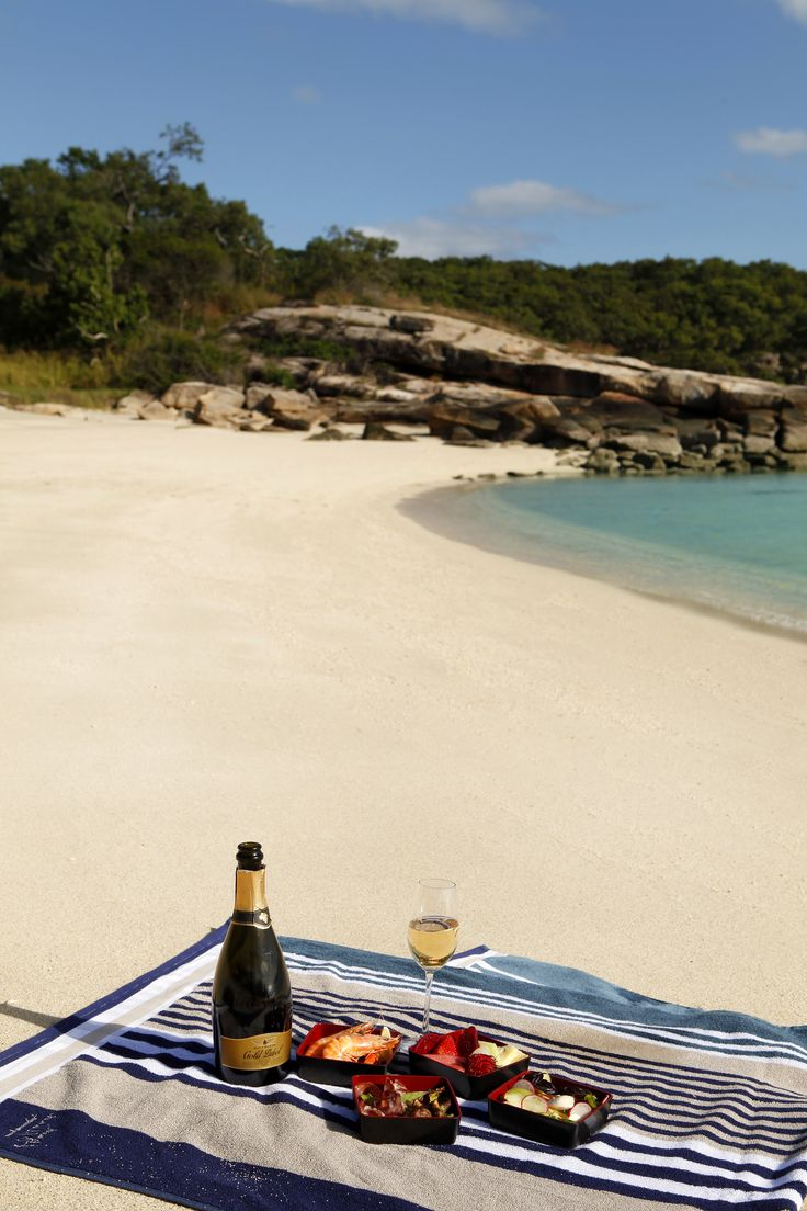 Lizard Island Great Barrier Reef Private Beach Picnic