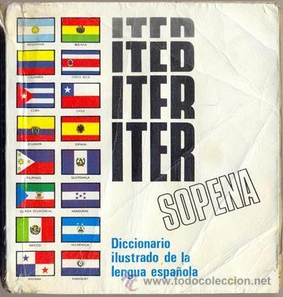 ITER SOPENA Diccionario Ilustrado de la lengua española - Editorial Ramón Sopena, 1979