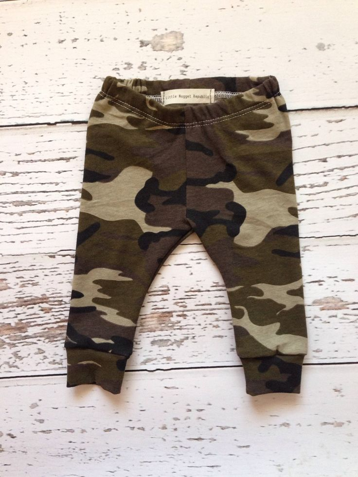 Camo Baby leggings, baby leggings, baby boy leggings, infant leggings, toddler leggings, leggings, newborn leggings - pinned by pin4etsy.com
